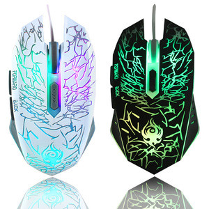 High quality ergonomic dpi PC wired usb 6d optical computer gamer mouse