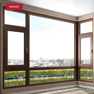 High quality german standard UPVC profiles aluminum windows & doors