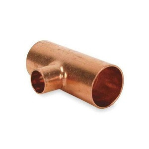 High quality OEM copper reducing tee