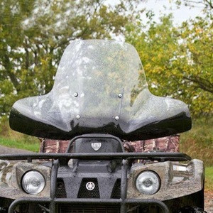 High quality PMMA ATV windscreen and ATV windshield for ATV parts