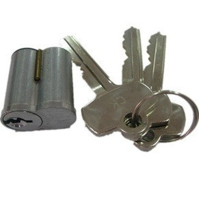 High security cylinder drawer lock parts