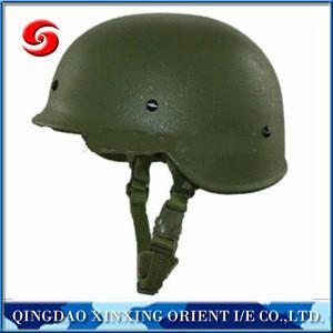 NIJ IIIA 9mm .44 PASGT Kevlar bullet proof helmet