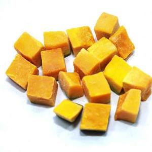 Nutritious Pumpkin Chunk IQF Diced Pumpkin Frozen Pumpkin Dices
