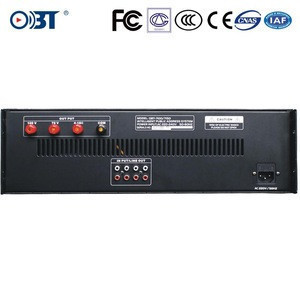 OBT-7200 2000W high Power Amplifier in professional audio, video&lighting for public address system