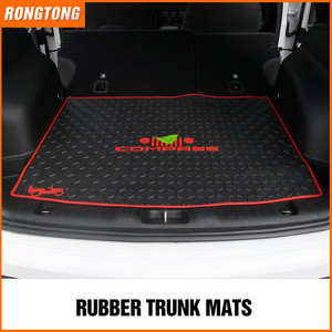 Popular Trunk Car Mat Rubber Anti-slip for Jeep Compass
