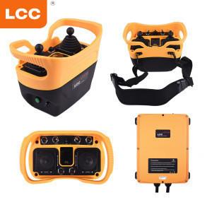 Q5000 joystick radio hetronic remote control for concrete pump truck car cable cutter