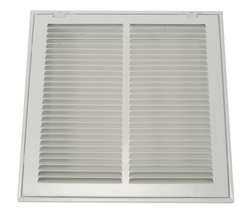 Return Air Filter Grille 16x20 In White