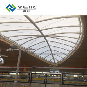 Shade canopy awning non-stick fireproof PTFE architectural membrane