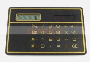 Slim Credit Card Cheap Solar Power Pocket Calculator Novelty Small Travel Compact Calculator