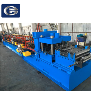 Steel Frame & Purlin Machine C Z Purlin Cold Roll Forming Machine