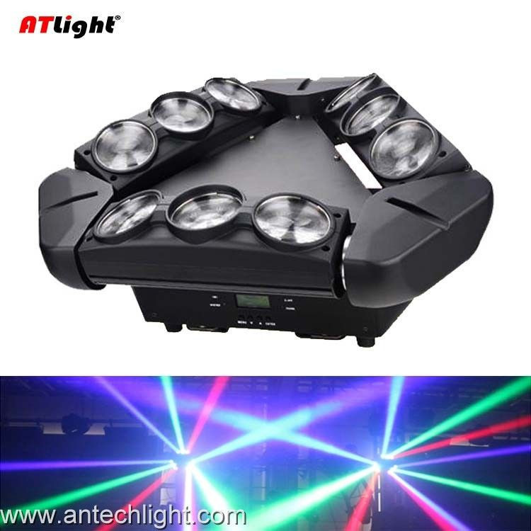 9x10W RGBW LED Spider Moving Head ATS90M