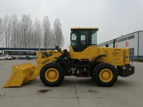 Wheel loader FD936 with quick change system,brand engine