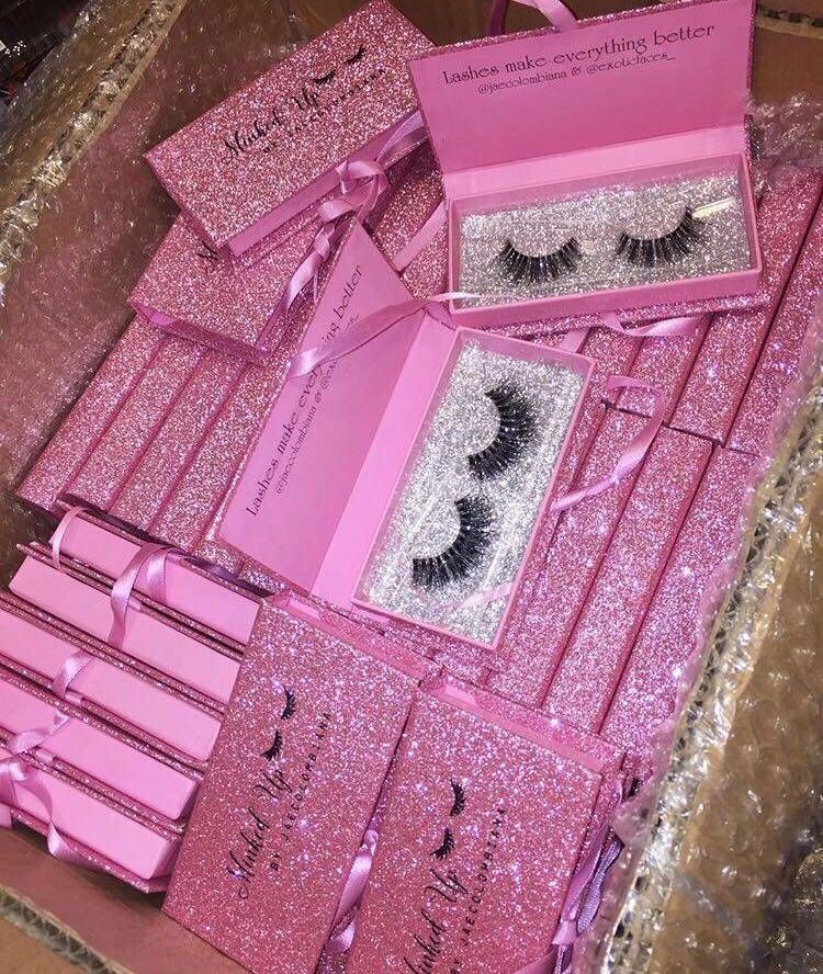 Wholesale Private Label Eyelash Boxes