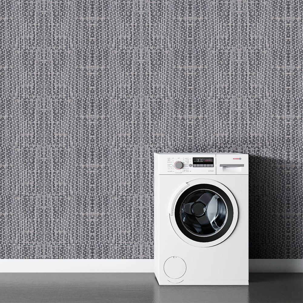 Construction widely used wall covering fabric waterproof wall wallpaper woven vinyl wallpaper for home
