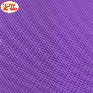 100% polyester 230T twill oxford fabric with pu coating for bags jacket