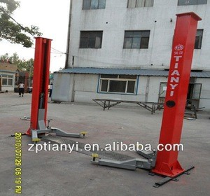 4000kg lifting two post hydraulic car lift