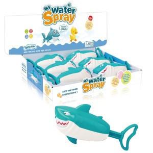 6 pcs display box shark water cannon summer watergun playing water game gun toy baby shower bath toy animal