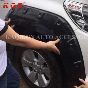 ABS accessories black wheel arch fender flares fortoyota hilux revo