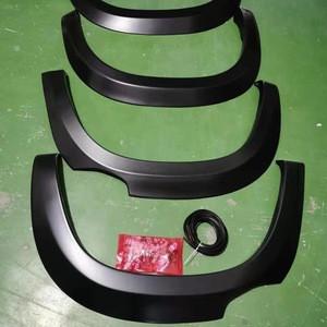 ABS racing car accessories Wheel flexible car Fender Flares Universal yet dur Eyebrow Protector Wheel Arch mudguards