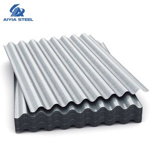 AIYIA Zinc Coated Galvanized Corrugated Steel Roofing/Wall Panel for Africa