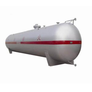 ASME 120M3 lpg gas tank for storage of liquefied petroleum gas for Nigeria market