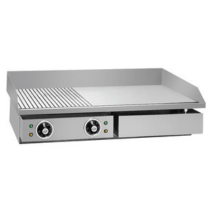 Automatic Electric Steak Griddle Counter Top Comercial 220V Griddle for Restaurant