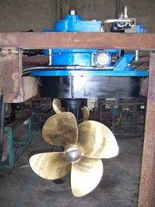 China 4 blade type marine ship/boat bronze propeller