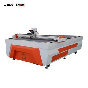 Cnc vibrating knife corrugated paper cutting machine