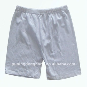 Cotton embroderie ladies underwear short pants