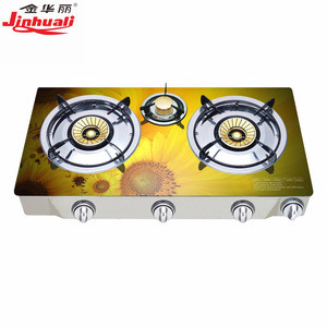 Double Burner Tabletop Biogas Cooker/gas Stove