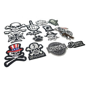 Factory Price Clothing Patches Garment Accessories Embroidery Patch