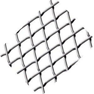Factory price high manganese stainless steel griddle crimped wire mesh