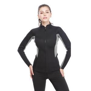 Factory Wholesale 3mm Neoprene Split Type Ladies Diving Wetsuit Top for Scuba Diving Snorkeling