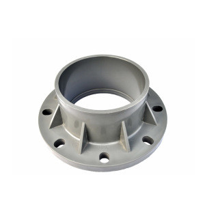 Forging with machining parts