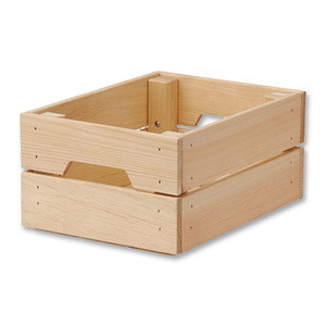 Hot sale garden tool storage wooden crates home clothes toy storage wood crates