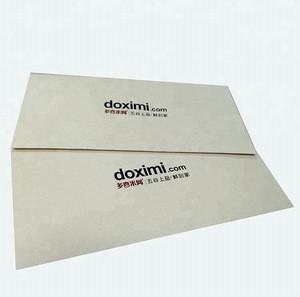 Hot Stamping Handling Kraft Paper Envelope