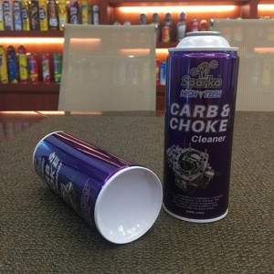 Nacked-in can aerosol with coating Carb & Choke Cleaner tinplate for Carb & Choke Cleaner packaging china