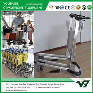 New design airline luggage trolley cart