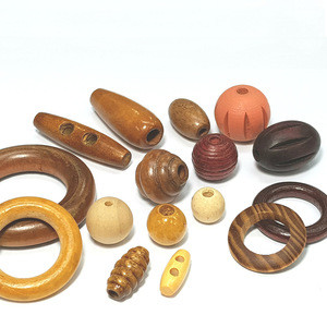 OEM/ODM Garment Wooden Button / Wooden Buckle / Wooden Beads Ring