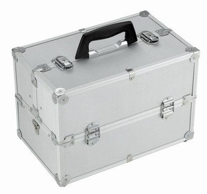OEM/ODM Lockable Plastic Hard Carry Tool Case With Compartments With Handle