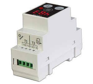 Programmable Differential Thermostat Technogamma Delta