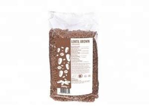 Raw Brown Lentils Vegan And Gluten Free Certified Organic | Private Label | Bulk