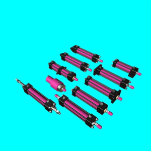 Small hydraulic cylinder for different industries