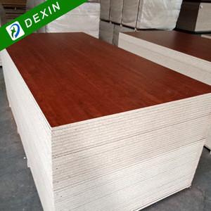 Solid Color, Wood Grain, Marble Grain Melamine Faced Chipboard on Sale