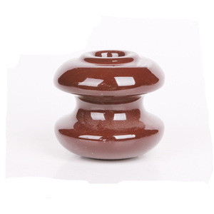 Standard size porcelain/ceramic overhead line insulator for low voltage busbar