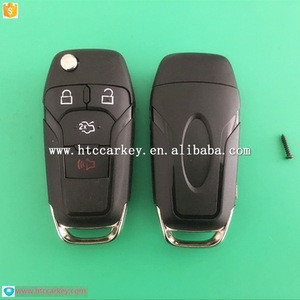 Top quality for Ford 4 Button Flip Key Shell