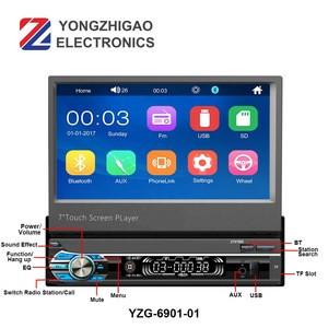 Usb Player Smart Stereo Pioneer System Multimedia Media Led Screen Mp5 Reverse Camera Car Radio