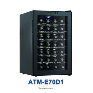 Wholesale 28 bottle mini wine cooler cabinet refrigerator