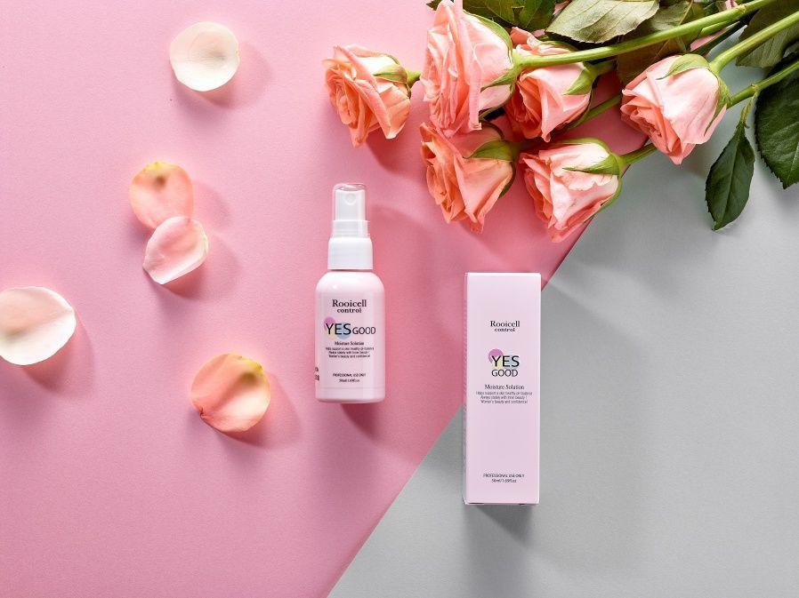 USA FDA registered ISO22716 GMP Korean cosmetics natural Feminine Yoni Mist Vagina care YESGOOD Moisture Solution mist 50ml