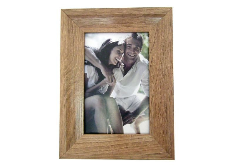 MDF photo frame with paper wrapped